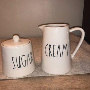 Rae Dunn Cream And Sugar
